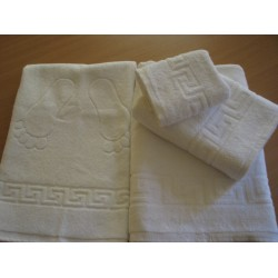 Полотенце «ОТЕЛЬ» белое 50*90 плотность500 гр.