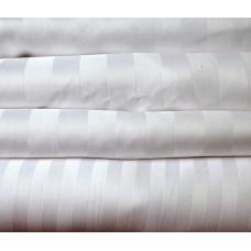 Пододеяльник «Страйп-Сатин» белый 1,5-спальный